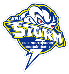 Erie North Shore Storm Logo