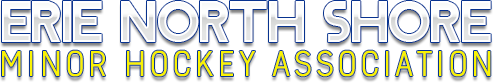 Erie North Shore Minor Hockey Logo